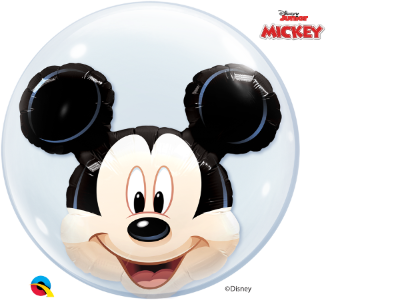 Balão Bubble Disney Shaped Mickey Mouse