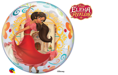 Balão Bubble Disney Elena de Avalor