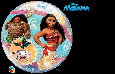 Balão Bubble Disney Moana
