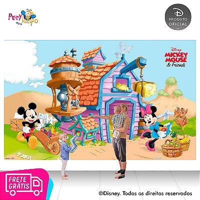 Painel festa Decorativo Fazendinha do Mickey - 4,0m x 2,50m