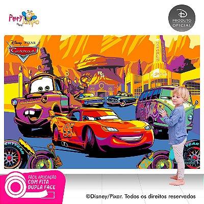 Painel festa Decorativo Carros - Deserto - 2,20m x 1,45m