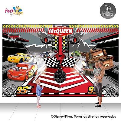 Painel festa Decorativo Carros - Desenho - 4,0m x 2,50m