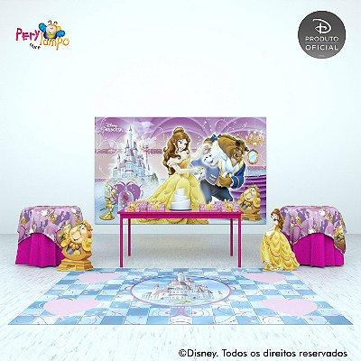 Painel Decorativo A Bela e a Fera - Movies - 4,0m x 2,50m