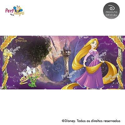 Painel sublimado em tecido Enrolados - Rapunzel Torre - Tamanho 7,0m x 3,0m