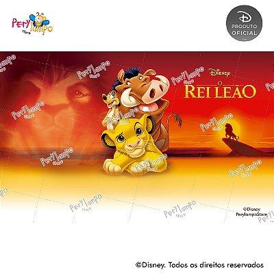 Painel festa Decorativo O Rei Leão - Clássico - 4,0m x 2,50m