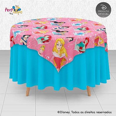Toalha Mesa Sobrepor Cobre Mancha - Princesas Empoderadas