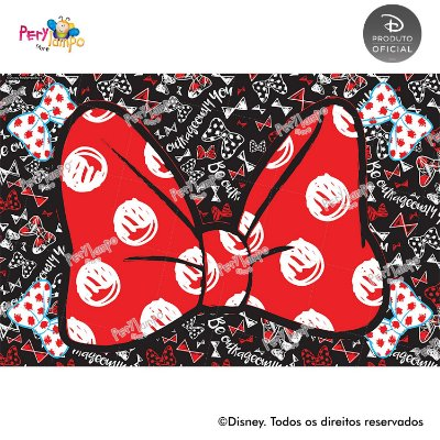 Lona Decorativa - Minnie Conceito - 3,0 x 2,0m