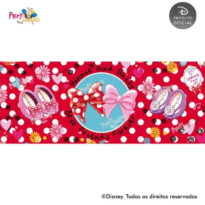 Lona Decorativa - Quarto da Minnie - 5,0 x 2,0m