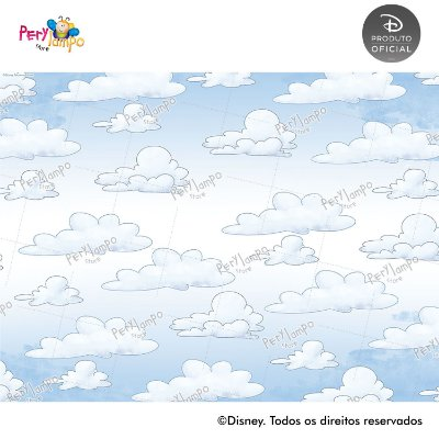 Lona Decorativa - Mickey & Amigos - 2,0 x 1,5m