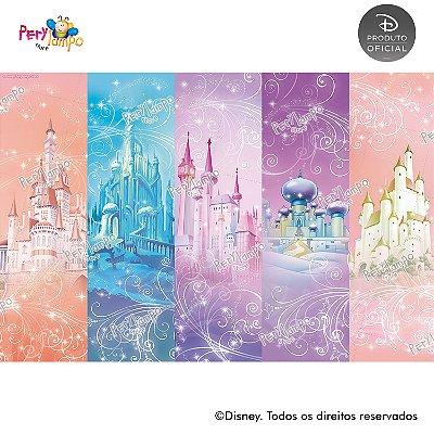 Lona fosca para piso - Princesas Disney Empoderadas - 3,0 x 2,0m
