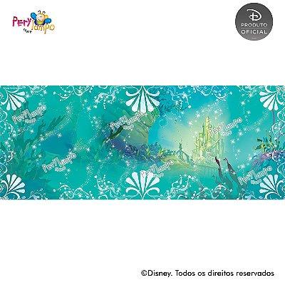 Lona Decorativa - Pequena Sereia - Ariel Fundo Mar- 5,0x2,0m