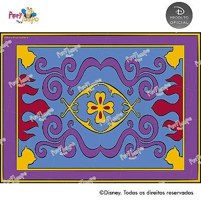 Lona fosca para piso - Aladdin - Jasmine - Desenho - 2,0 x 1,5m