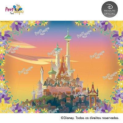 Lona Decorativa - Enrolados - Rapunzel - Série - 2,0 x 1,5m