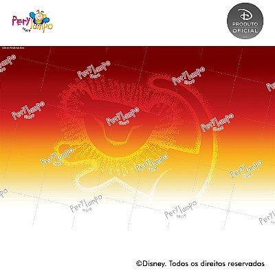 Lona Decorativa - O Rei Leão - Clássico - 3,0 x 2,0m