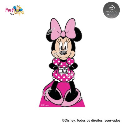 Kit 4 displays de mesa - Minnie - Arco-Íris