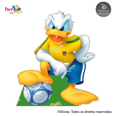 Kit 5 displays de mesa - Mickey Futebol
