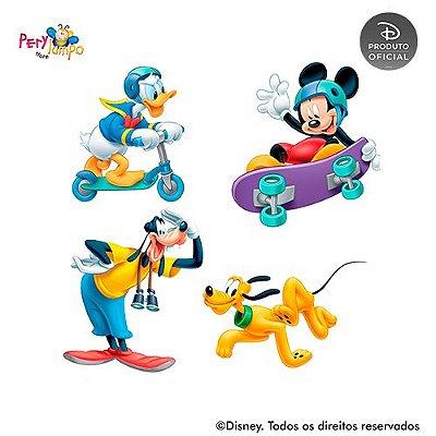Kit 4 displays de mesa - Mickey - Esportes de Verão