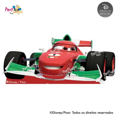 Kit 4 displays de mesa - Carros Pista Tókio