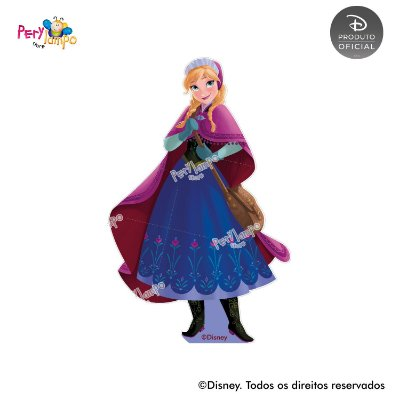Kit 4 displays de mesa - Frozen Rosa