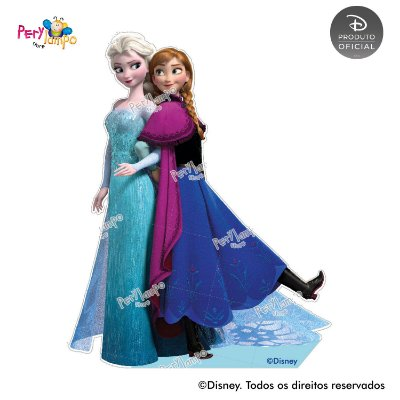Kit 4 displays de mesa - Frozen Neve