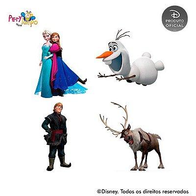 Kit 4 displays de mesa - Frozen - Neve