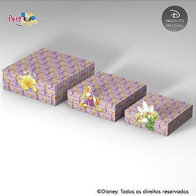 Kit Suportes Bandejas Decorativa - Enrolados -Rapunzel-Torre