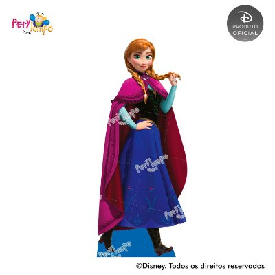 Display Totem de Chão - Frozen Neve - Anna