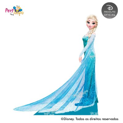Display Totem de Chão - Frozen Neve - Elsa