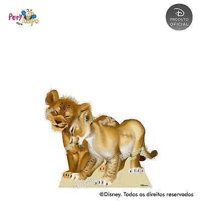 Display Totem de Chão O Rei Leão - Live Action - Simba e Nala