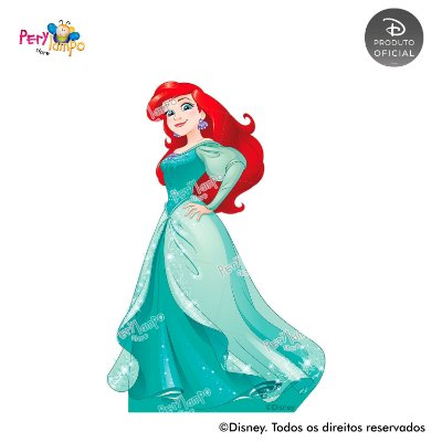Display Totem de Chão - Princesas Disney Empoderadas - Ariel