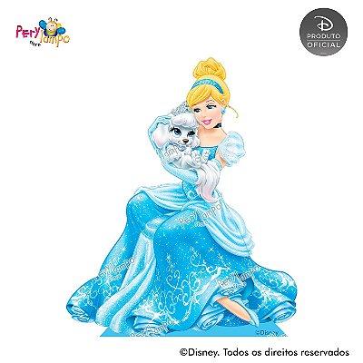 Display Totem de Chão - Princesas Disney & Pets - Cinderela