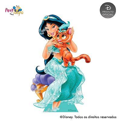 Display Totem de Chão - Princesas Disney & Pets - Jasmine