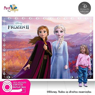 Painel Decorativo Frozen 2 - Empoderadas 3 - 2,20 x 1,45