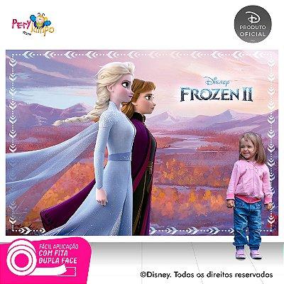 Painel De Festa Decorativo Frozen 2 - Reino - 2,20m x 1,45m