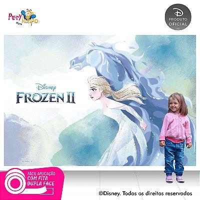 Painel Festa Decorativo Frozen 2 - Elsa Nokk - 2,20m x 1,45m