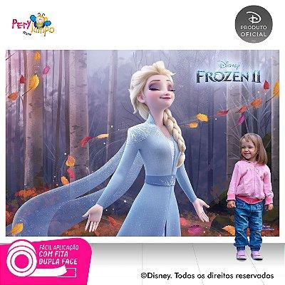 Painel Decorativo Frozen 2 - Elsa Sensações - 2,20m x 1,45m