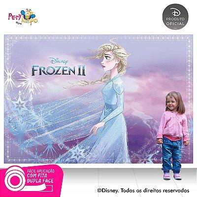 Painel Decorativo Frozen 2 - Aquarela Elsa -2,20m x 1,45m