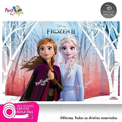 Painel Decorativo Frozen 2 - Empoderadas 2 - 1,45m x 1,00m