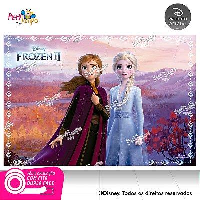 Painel Decorativo Frozen 2 - Empoderadas 3 - 1,45m x 1,00m