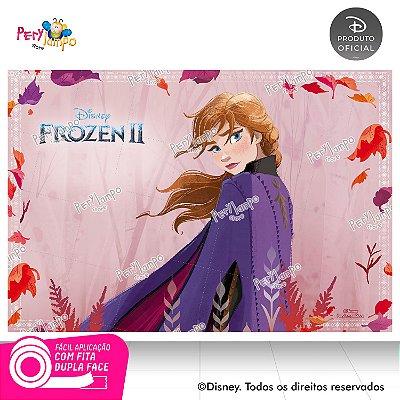 Painel Decorativo Frozen 2 - Aquarela Anna - 1,45m x 1,00m