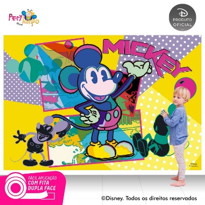 Painel de festa Decorativo Mickey Conceito - 2,20m x 1,50m