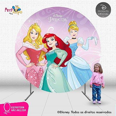 Painel Decorativo Redondo - Princesas Empoderadas 1 - 2,10D