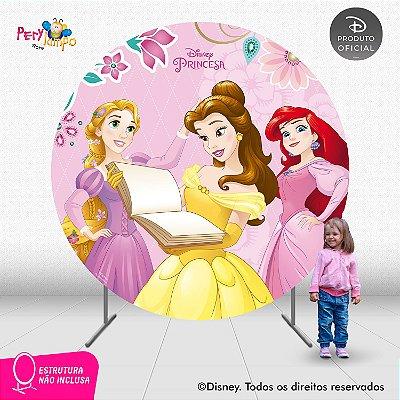 Painel Decorativo Redondo - Princesas Empoderadas 2 - 2,10D