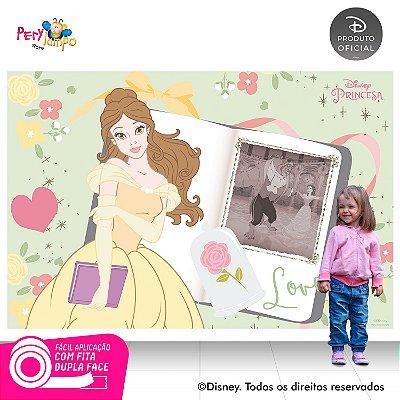 Painel festa decorativo A Bela e a Fera Álbum 2,20m x 1,45m