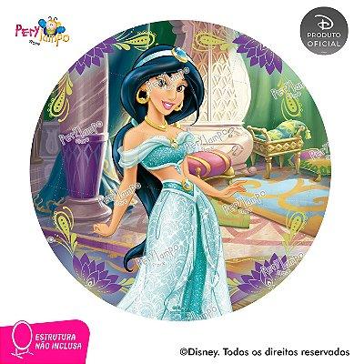 Painel Decorativo Redondo - Aladdin - Jasmine Quarto -1,45D