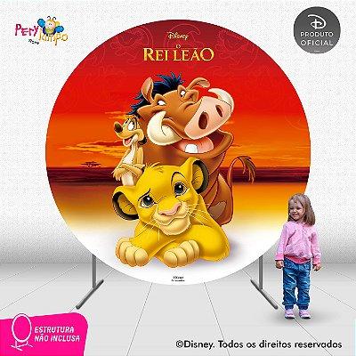 Painel Decorativo Redondo - O Rei Leão Clássico - 2,10D