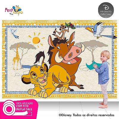 Painel Decorativo O Rei Leão Simba, Timão, Pumba-2,20mx1,45m