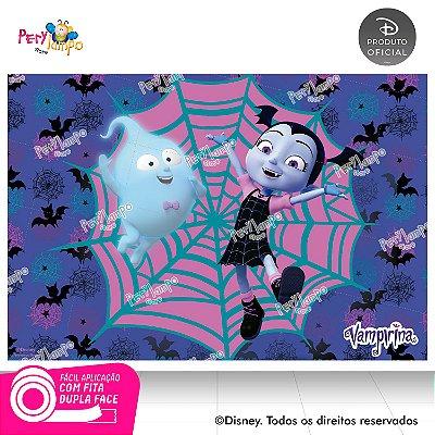 Painel de festa Decorativo - Vampirina Morcego-1,45m x 1,00m