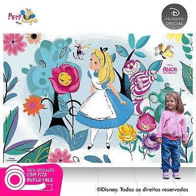 Painel Decorativo Alice no País das Maravilhas - 2,20x1,45m