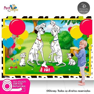 Painel de Festa Decorativo - 101 Dálmatas - 2,20 x 1,45m
